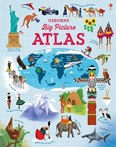 Big Picture Atlas (Atlases): 1 from Usborne Publishing Ltd