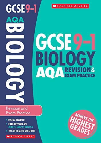 Biology Revision and Exam Practice Book for AQA (GCSE Grades 9-1) from Scholastic