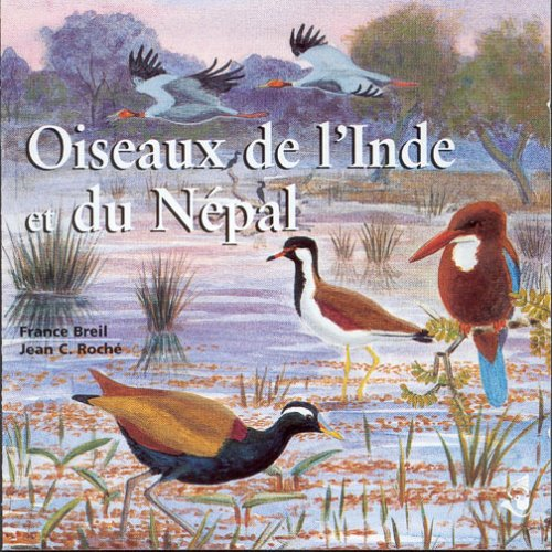 Birds in India and Nepal