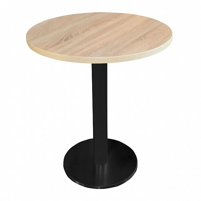 Bistro table CAVEPRO, light oak, round