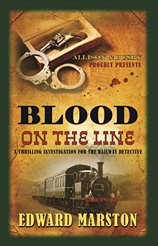 Blood on the Line (Railway Detective) from Allison & Busby