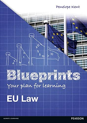 Eu Law (Blueprints): EU Law from Pearson