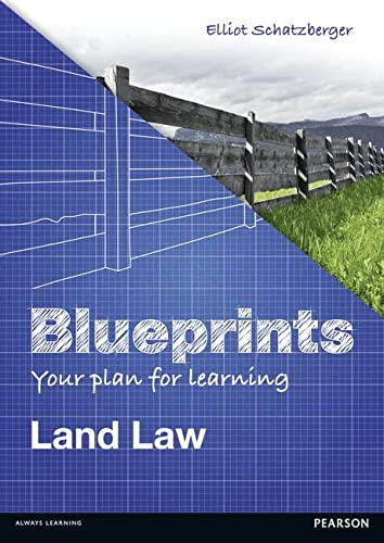 Blueprints: Land Law: Your Plan for Learning Land Law from Pearson