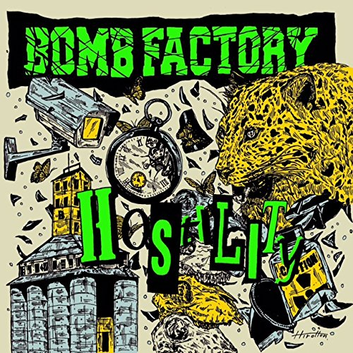 Bomb Factory - Hostility [Japan CD] CBR-70 from Indies Japan