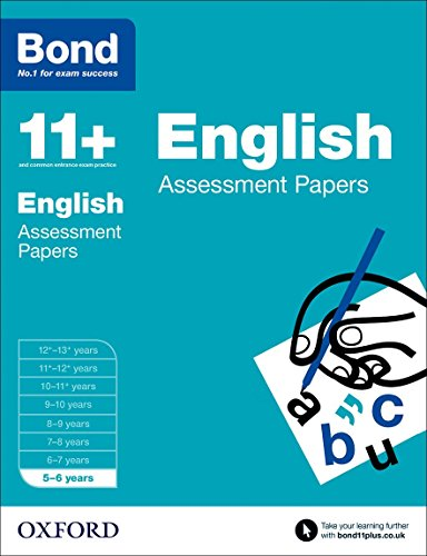 Bond 11+: English Assessment Papers: 5-6 years from OUP Oxford