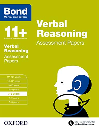 Bond 11+: Verbal Reasoning Assessment Papers: 7-8 years from OUP Oxford