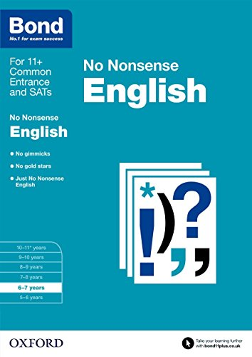 Bond: English No Nonsense: 6-7 years from OUP Oxford