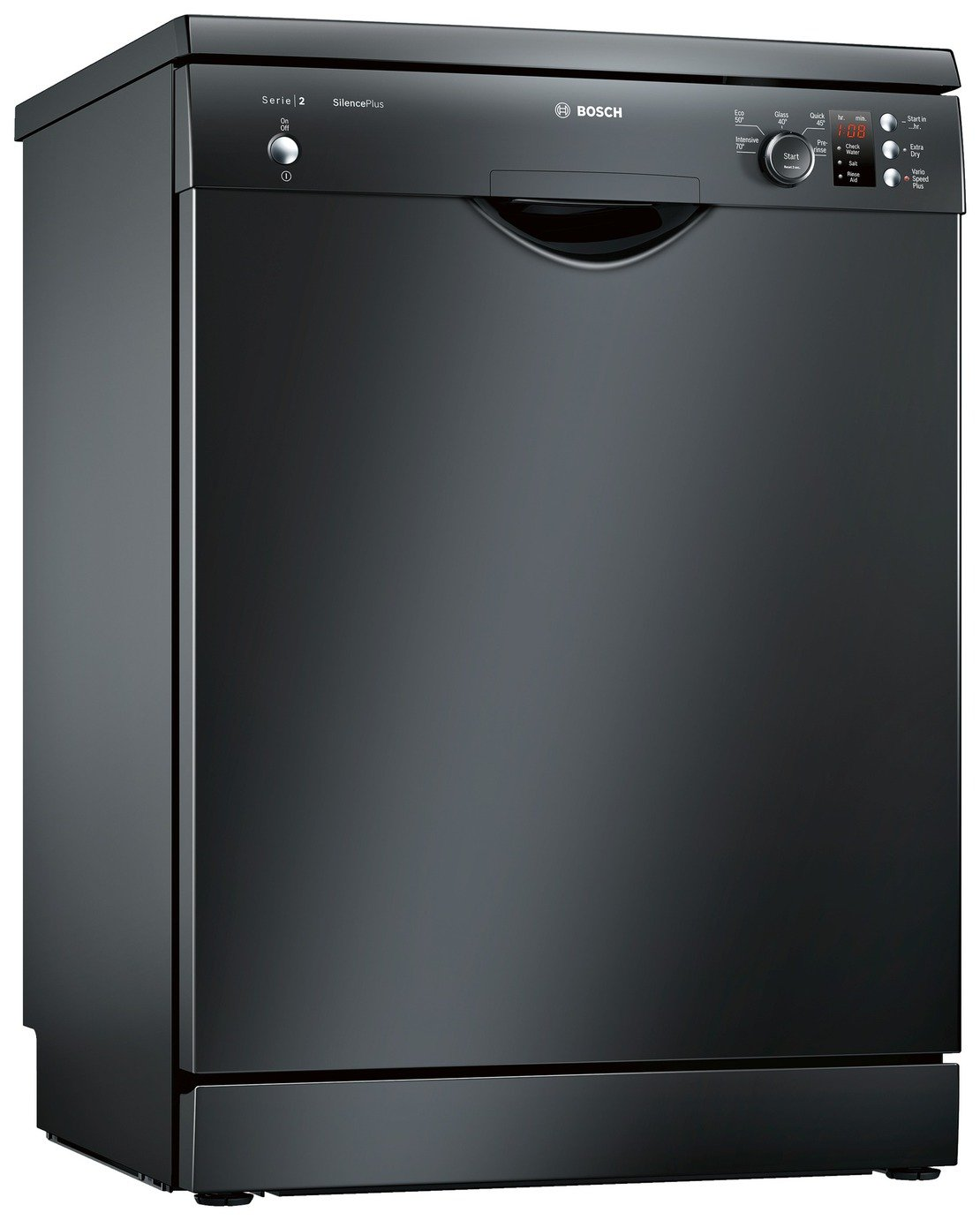 Bosch SMS25AB00G Full Size Dishwasher - Black from Bosch