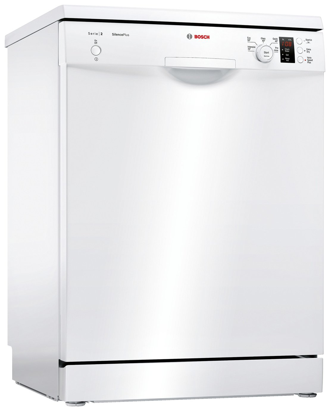 Bosch SMS25AW00G Full Size Dishwasher - White from Bosch