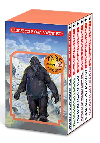 Box Set #6-1 Choose Your Own Adventure Books 1-6:: Box Set Containing: The Abominable Snowman, Journey Under the Sea, Space and Beyond, the Lost Jewels of Nabooti, Mystery of the Maya, House of Danger from Chooseco
