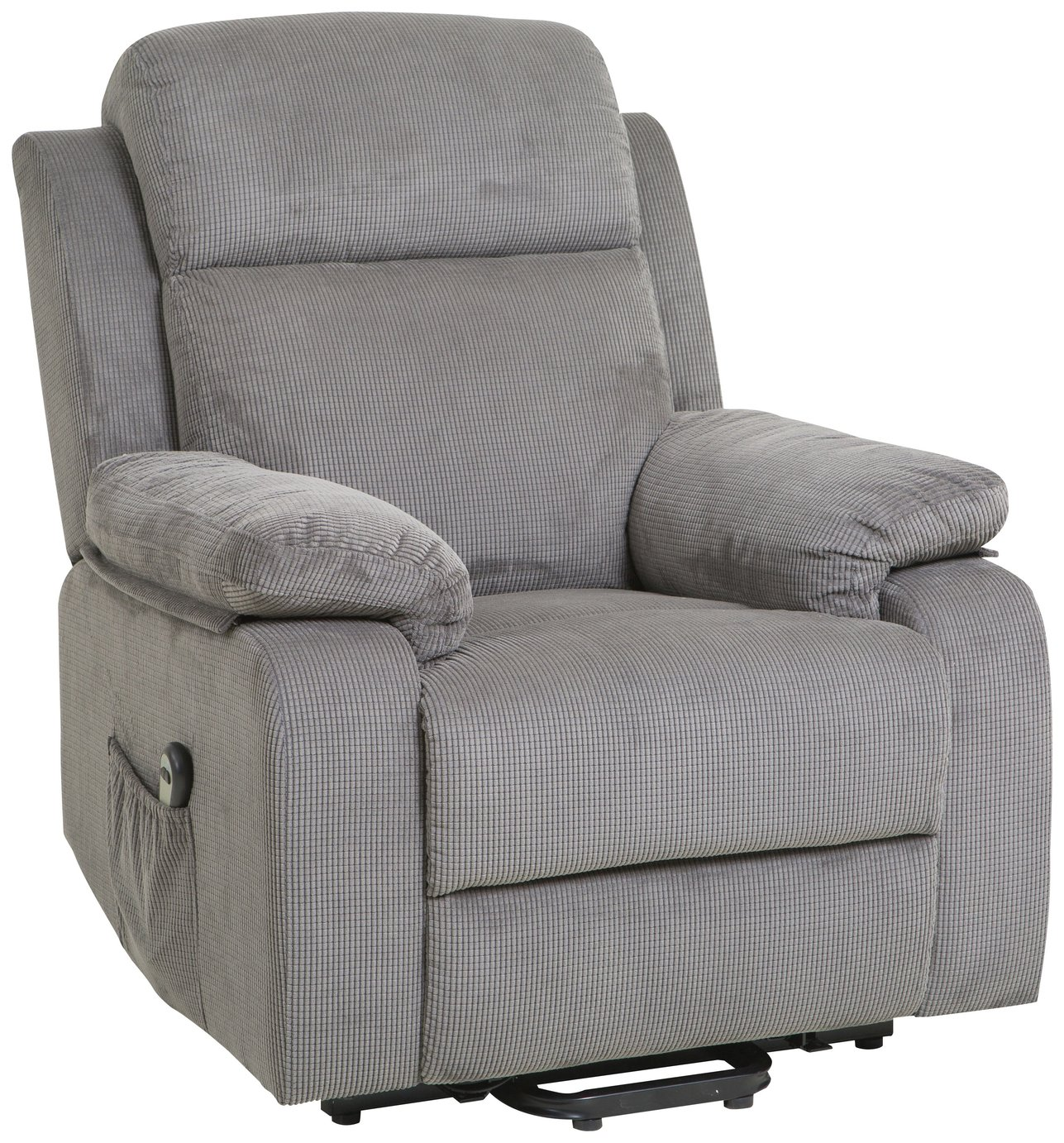 Bradley Fabric Charcoal Riser Recliner from the collection