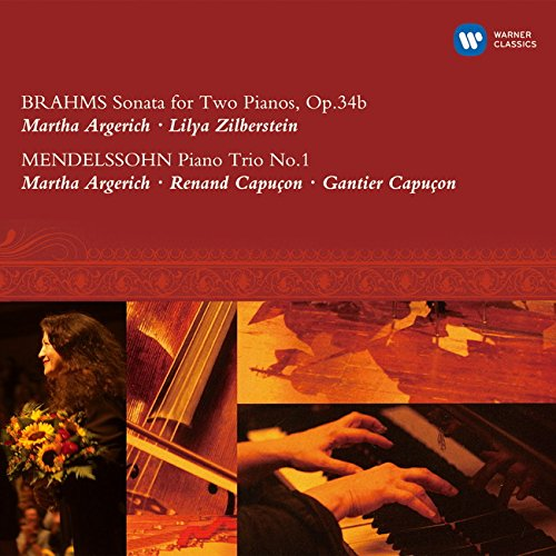 Brahmas: Sonata for 2 Pianos Etc.
