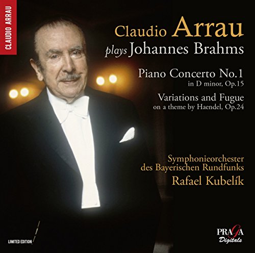 Brahms: Piano Concerto No.1, Variations on a theme by Handel