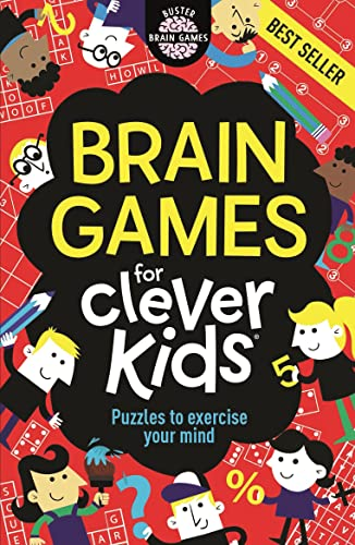 Brain Games For Clever Kids (Buster Brain Games) from Moore Gareth