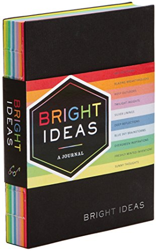 Bright Ideas Journal: A Journal With 10 Shades of Inspiration from Chronicle Books