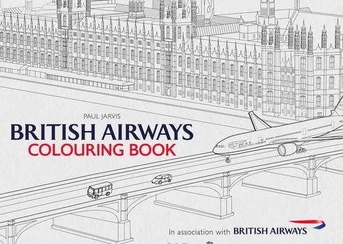 British Airways Colouring Book from Amberley Publishing