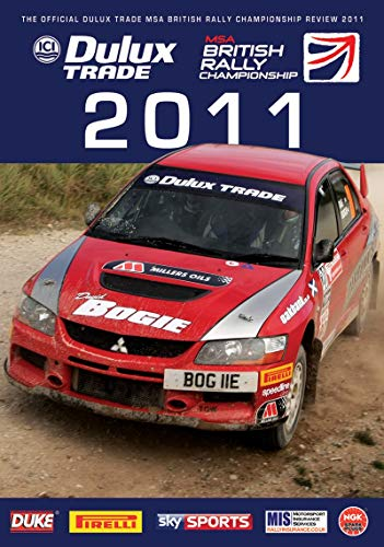 British Rally Championship Review 2011 DVD from Duke Marketing