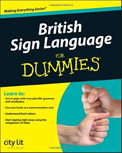 British Sign Language For Dummies from Brand: For Dummies