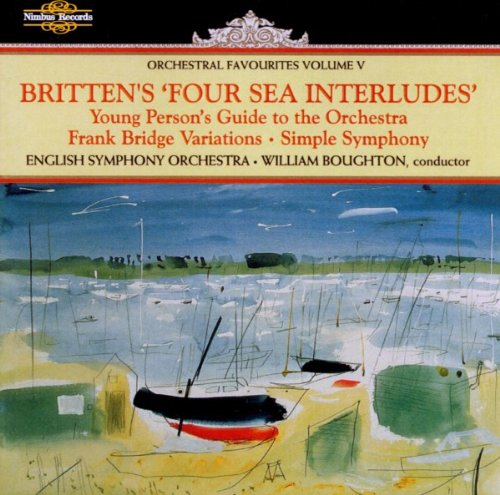 Britten: Four Sea Interludes/Young Person's Guide to the Orchestra