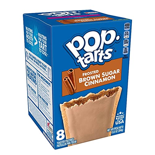 Brown Sugar Cinnamon Frosted Pop Tarts 397g (4 Boxes) from Pop Tarts