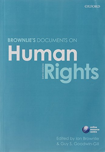 Brownlie's Documents on Human Rights from Oxford University Press, USA
