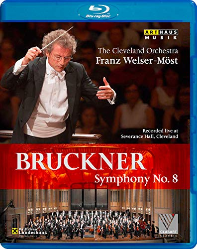 Bruckner: Symphony No. 8/ Most [Cleveland 2010] [The Cleveland Orchestra/ Franz Welser-Most] [Arthaus: 108069] [Blu-ray] [2012] [Region Free] from ARTHAUS