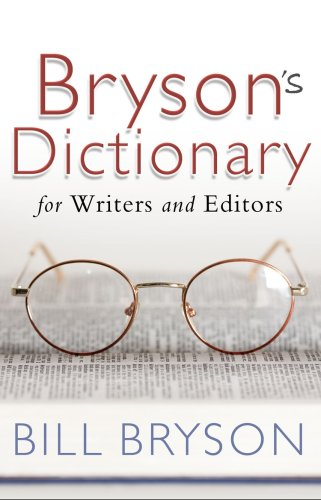 Bryson's Dictionary: for Writers and Editors from Black Swan
