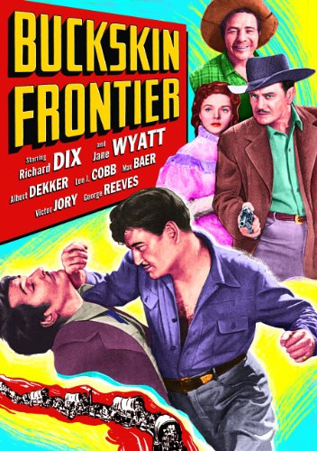 Buckskin Frontier (DVD-R) (1943) (All Regions) (NTSC) (US Import) [Region 1] from Alpha Video