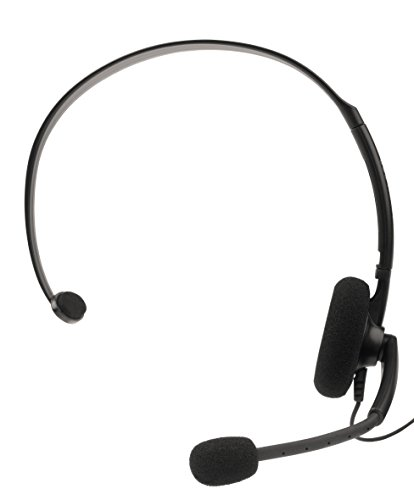 Elite Official Wired Headset Black XBOX 360 from Microsoft