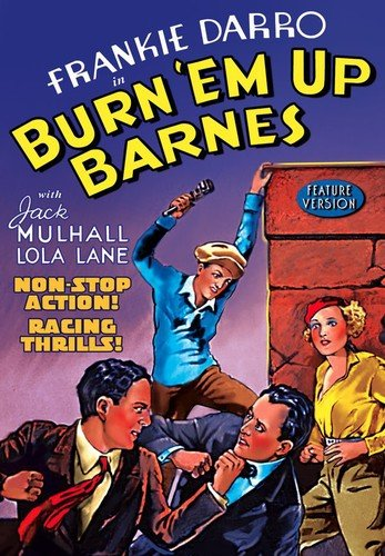 Burn 'em Up Barnes (DVD-R) (1934) (All Regions) (NTSC) (US Import) [Region 1] from Alpha Video
