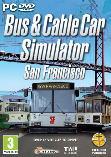 Bus & Cable Car Simulator - San Francisco (PC DVD) from Excalibur Games