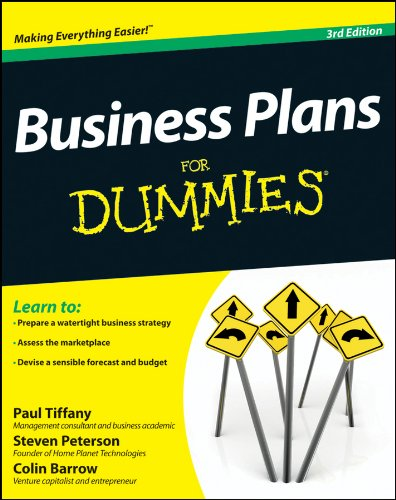 Business Plans For Dummies from For Dummies
