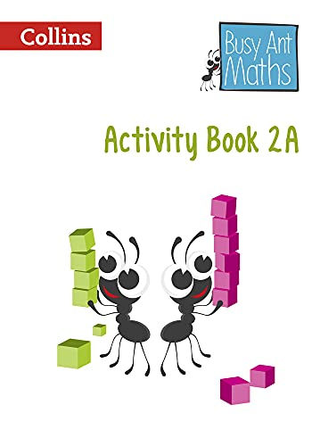 Busy Ant Maths European edition – Activity Book 2A from HarperCollins UK