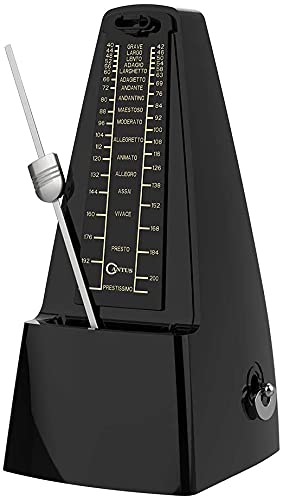 CANTUS Mechanical Metronome Loud Sound/High Precision/No batteries Needed/for Piano/Guitar / Violin/Drum and Other Instruments from CANTUS