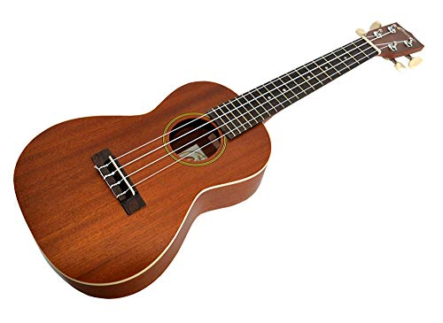 CONCERT UKULELE IN MAHOGANY SATIN FINISH BY CLEARWATER WITH AQUILA STRINGS - LATEST MODEL from Clearwater