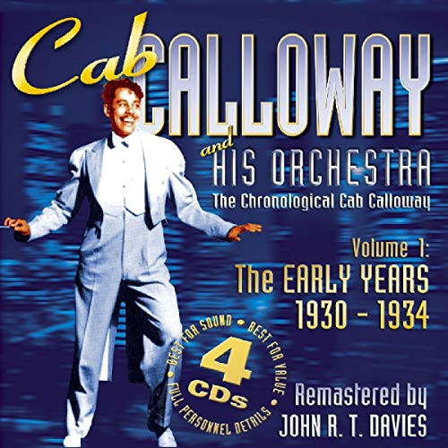Cab Calloway Vol. 1: The Early Years 1930-1934 from JSP