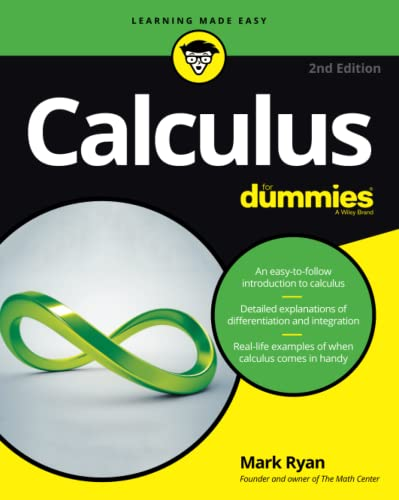 Calculus For Dummies (For Dummies (Lifestyle)) from John Wiley & Sons
