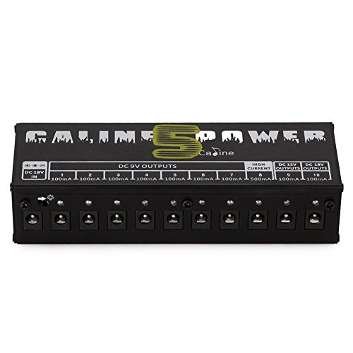 Caline UK CP-05 Guitar Effect Power Supply. UK Plug from Caline