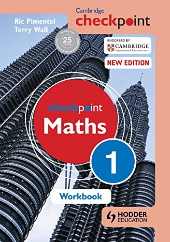 Cambridge Checkpoint Maths Workbook 1 from Hodder Education
