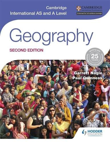 Cambridge International AS and A Level Geography second edition from Hodder Education