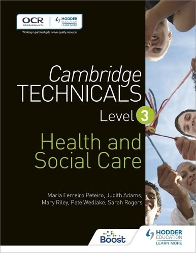 Cambridge Technicals Level 3 Health and Social Care (Cambridge Technicals 2016) from Hodder Education