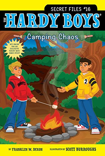 Camping Chaos: 16 (Hardy Boys: The Secret Files) from Aladdin Paperbacks