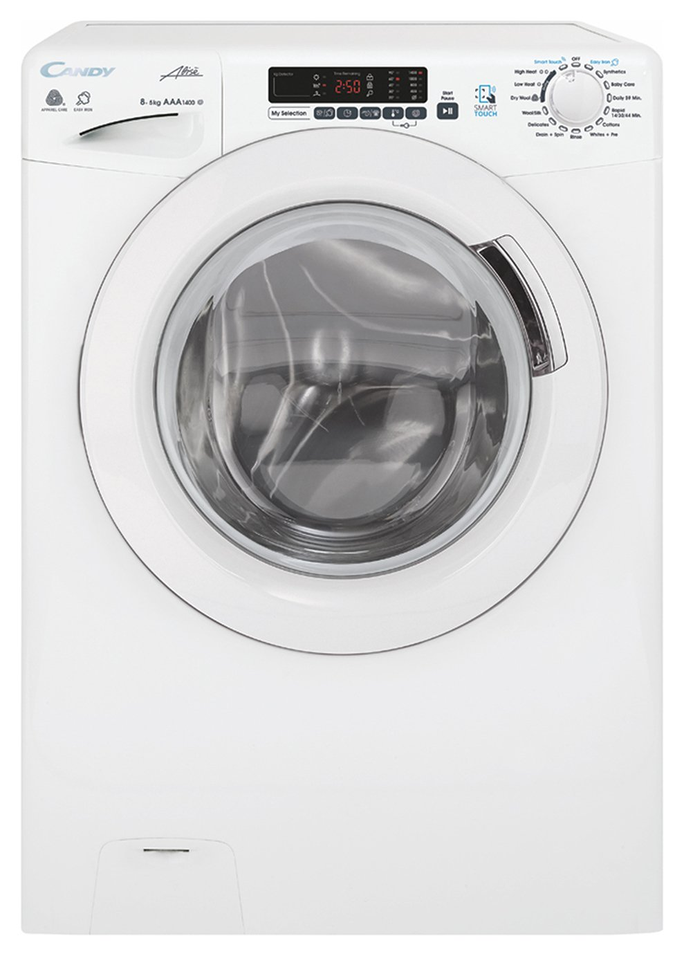 Candy GVSW485DC 8 / 5KG 1400 Spin Washer Dryer - White from Candy