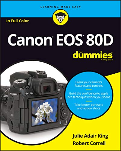 Canon Eos 80D for Dummies (For Dummies (Lifestyle)) from John Wiley & Sons