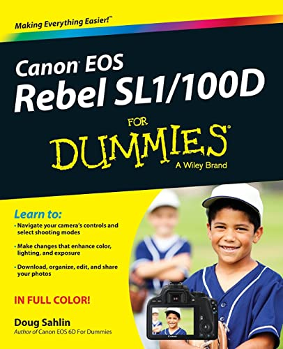 Canon EOS Rebel SL1/100D For Dummies from For Dummies