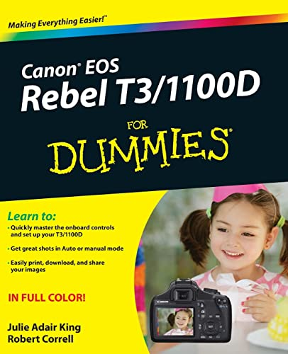 Canon EOS Rebel T3/1100D For Dummies from For Dummies
