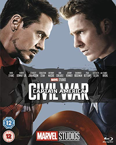 Captain America: Civil War  [Blu-ray] [2016] from Walt Disney Studios Home Entertainment