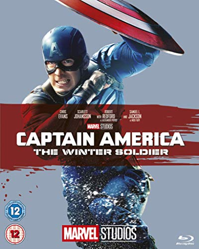 Captain America: The Winter Soldier [Blu-ray] [Region Free] from Walt Disney Studios Home Entertainment