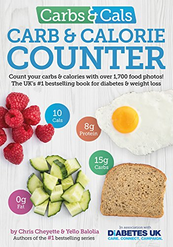 Carbs & Cals Carb & Calorie Counter: Count Your Carbs & Calories with Over 1,700 Food & Drink Photos! from Chello Publishing