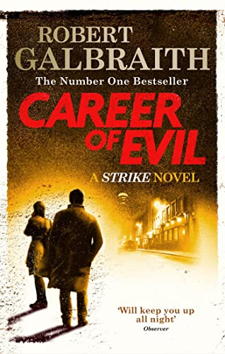 Career of Evil: Cormoran Strike Book 3 from Sphere